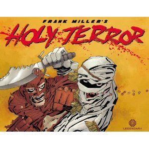 Holy Terror, Frank Miller: 6/10
