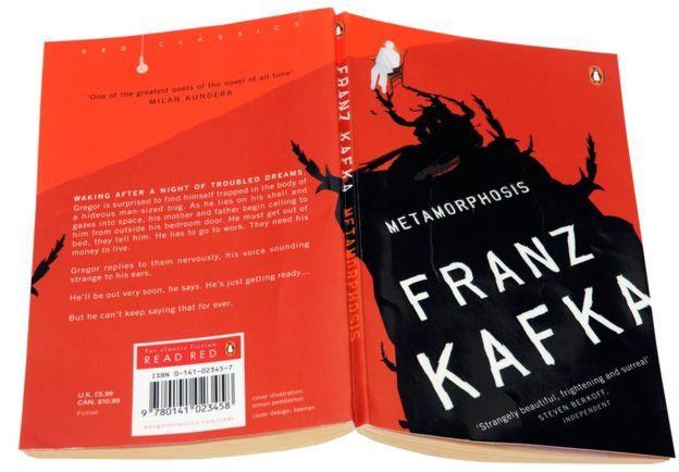 Franz Kafka Metamorphosis Book Cover 40829 | SITWEB