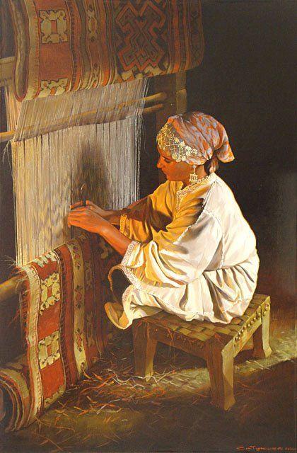 #beautiful oil #paintings by #Chinese #artist Guan ZeJu... ...réépinglé par Maurie Daboux ♬♩♬♩♬♩