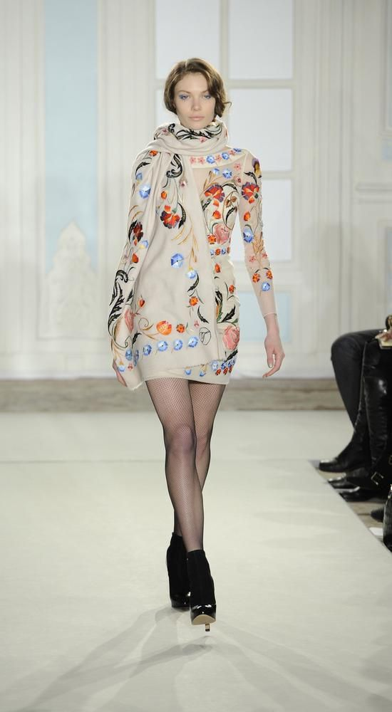 Autumn/winter 2014 fashion trends---  Matchy matchy layering