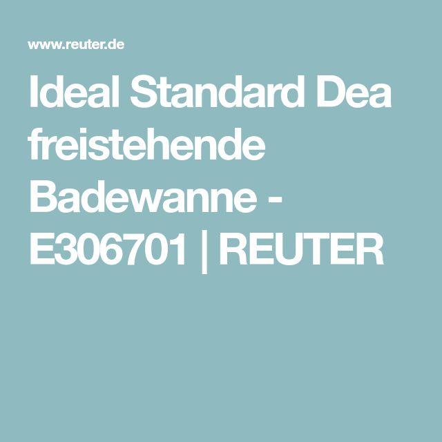 Ideal Standard Dea freistehende Badewanne - E306701   REUTER