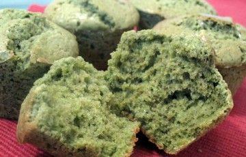 Muffin al tè verde matcha