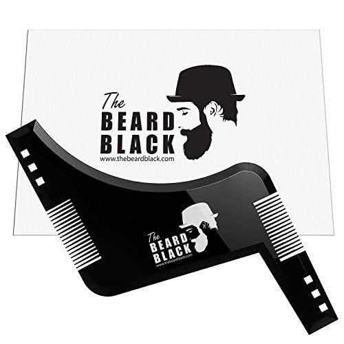 Barbe gainant et outil de coiffure avec peigne intégré pour Perfect Line Up et bordures, à utiliser avec une tondeuse à barbe ou Style de…
