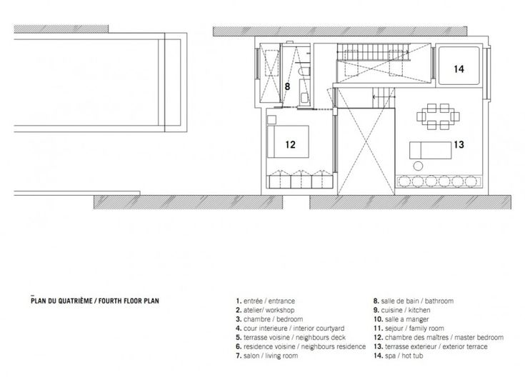 Ada Compliant Kitchen - plan salon cuisine sejour salle manger