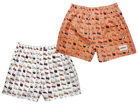 gift style: sushi boxers