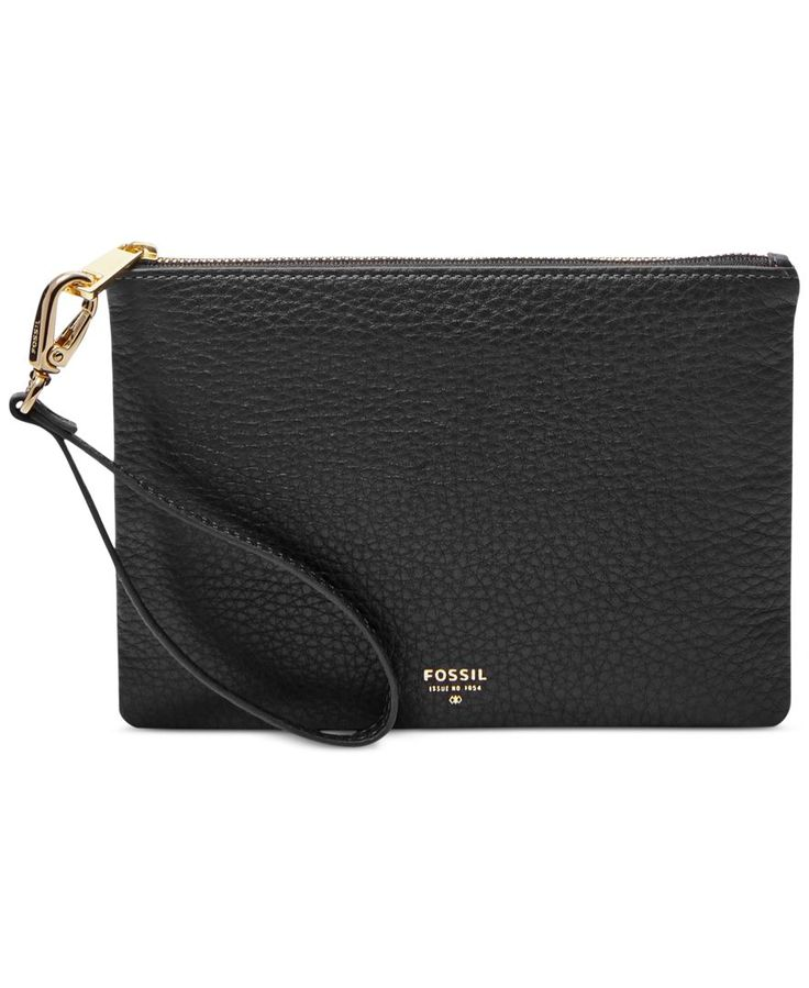 Fossil Small Leather Wristlet - Wallets & Wristlets - Handbags & Accessories - Macy's