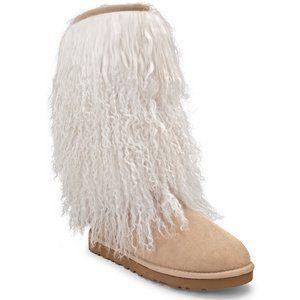 UGG Women's Tall Sheepskin Cuff Boot