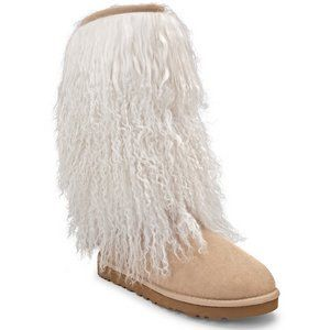 UGG Women's Tall Sheepskin Cuff Boot: Tall Sheepskin, Sheepskin Cuffs, Ugg Boots, Woman, Women Tall, Cuffs Boots, Winter Boots, Ugg Women, Boots Ugg