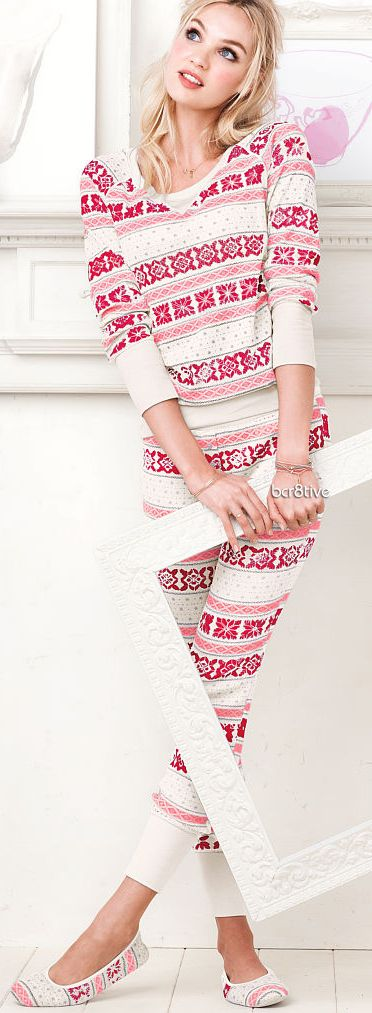 Victoria Secret Fireside Long Jane PJ