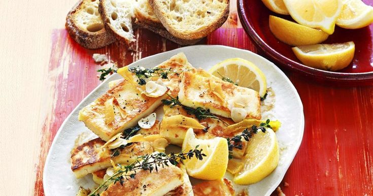 Haloumi makes a stylish starter for any family get-together.