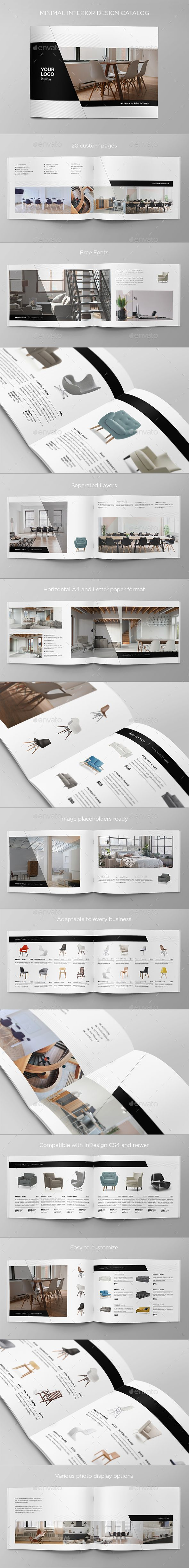 Minimal Interior Design Catalog - Catalogs Brochures