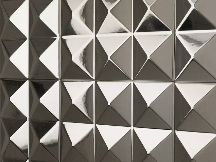 Ceramic 3d wall cladding for interior platinum keops - Dune ceramica ...