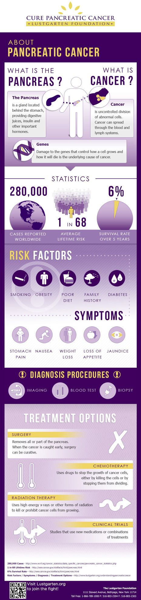 Quick Facts: A Pancreatic Cancer Infographic - Pancreatic Cancer Research - Lustgarten Foundation