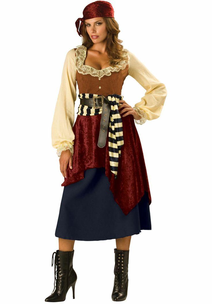 High Seas Pirate Costume Halloween Pinterest-3317