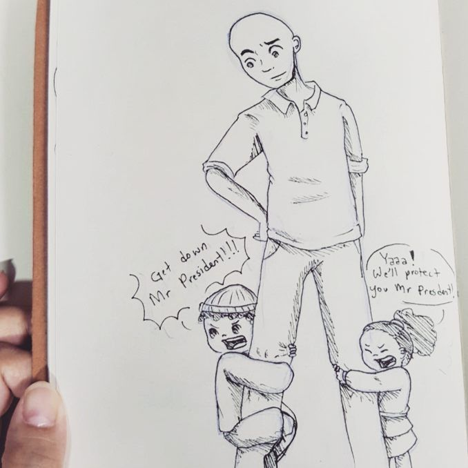 Bodyguards // This is actually so fucking cute tho