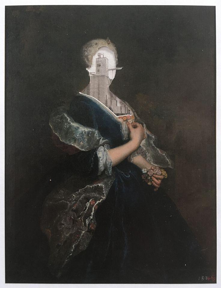Markus Boesch / Collage 13.5 cm x 18 cm