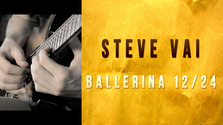 I playing Ballerina 12/24. This song is by Steve Vai and appears on the album Passion And Warfare (1990). La Ballerina si chiama bella rusa. Eayay-ya! GREAT ...