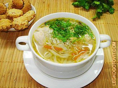 Суп куриный рецепт приготовления