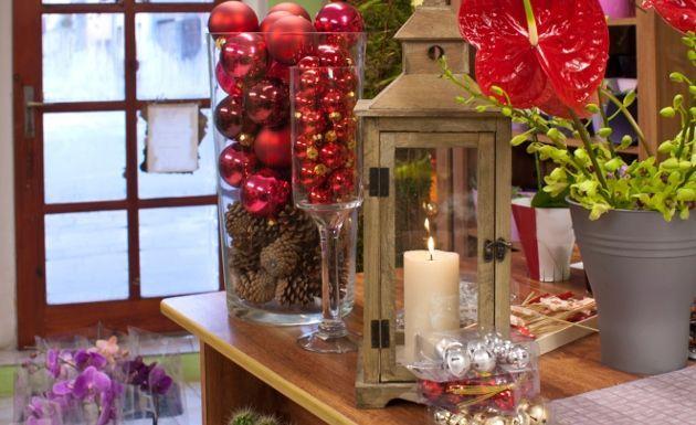 Decoracion Jarrones De Navidad ~ decoracion de comedores para navidad  Buscar con Google  Adornos de