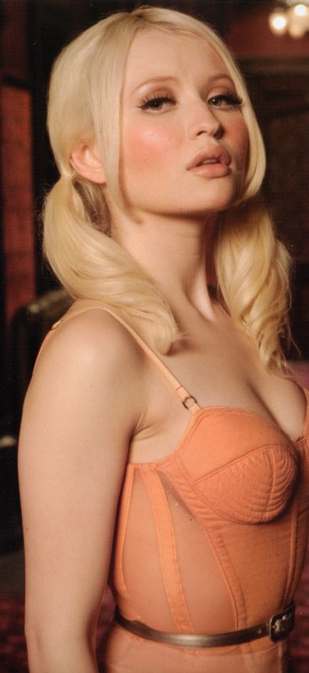 Emily Browning-she was hot as Babydoll in the movie SuckerPunch