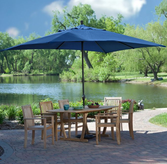 treasure garden shade anywhere take your umbrella camping to the beach or at your