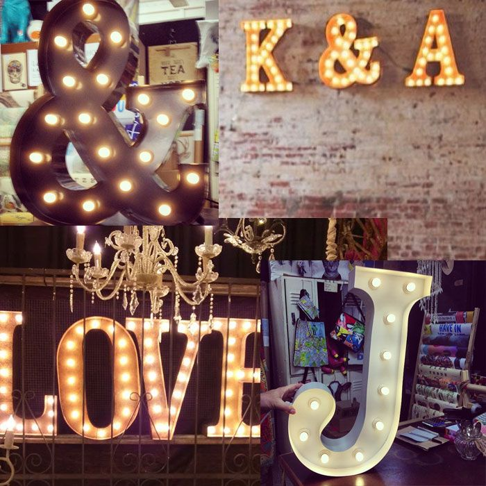 Bring light and happiness to your home or business or event with these AMAZING marquee letter lights. Our letter lamp is made from steel and will add a lil las vegas circus boneyard to your place.