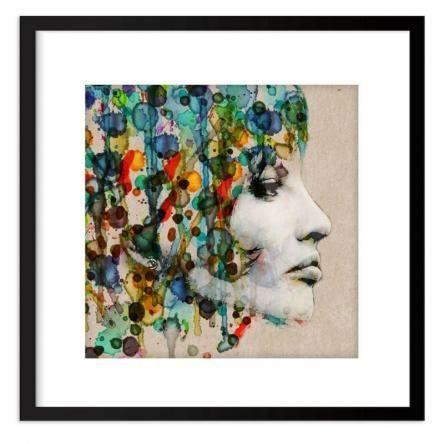 Monday Rain | Acrylic Glass Framed Print