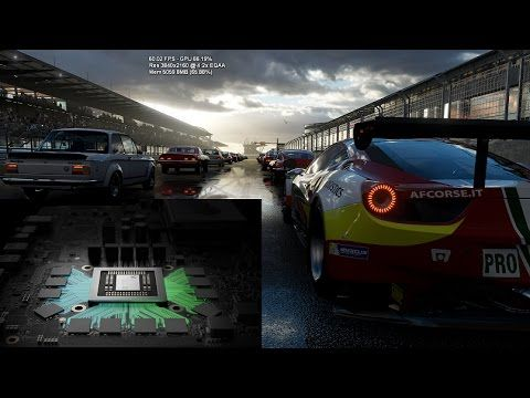 Xbox Project Scorpio Other Games Engines Get Great Results As Forza 6