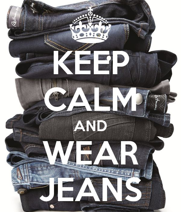 Keep Calm and Wear Jeans #Jeans #ReitmansJeans #BlueJeans #blue #bleu #KeepCalm