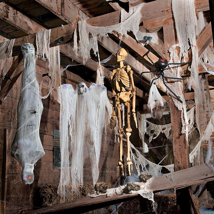 Halloween Spooky Barn Idea