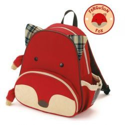 Fox Zoo Pack Kid's Backpack from #skiphop - Whimsical details and durable materials make this the perfect pack for on-the-go!