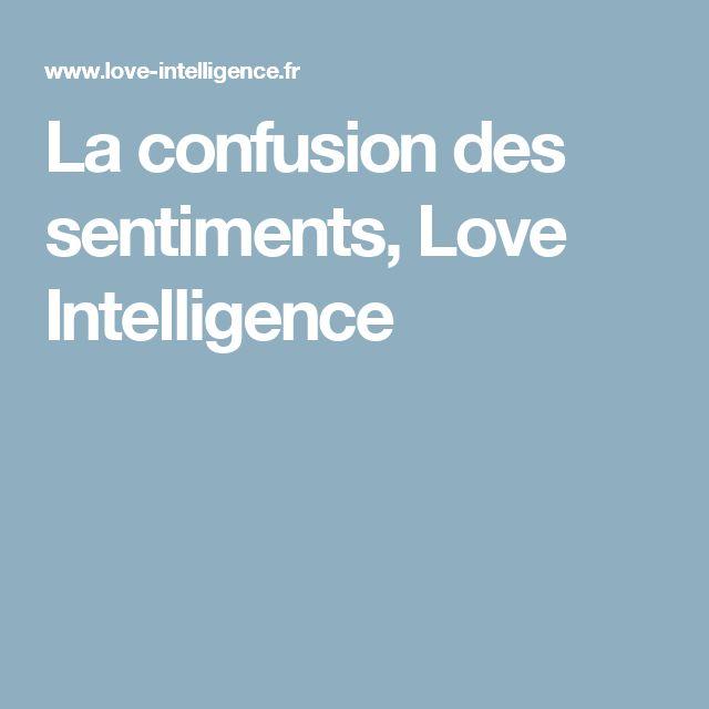 La confusion des sentiments, Love Intelligence