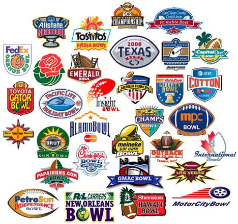 There are too many college bowl games