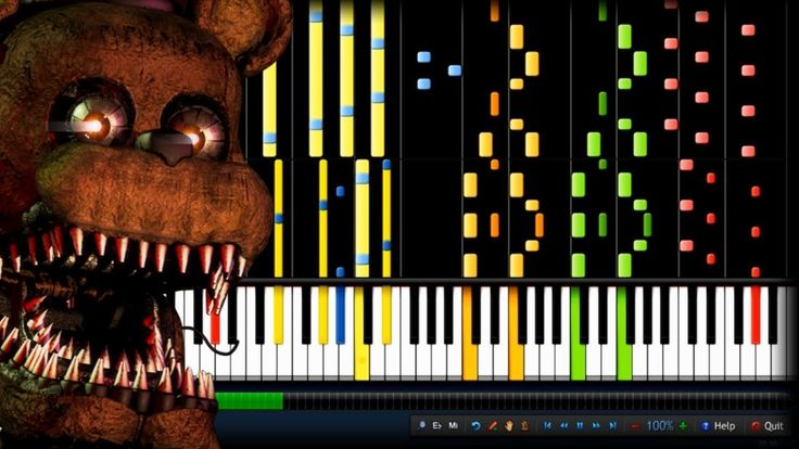 """IMPOSSIBLE REMIX - """"Break My Mind"""" DAGames (Five Nights at Freddy's 4) - YouTube"""