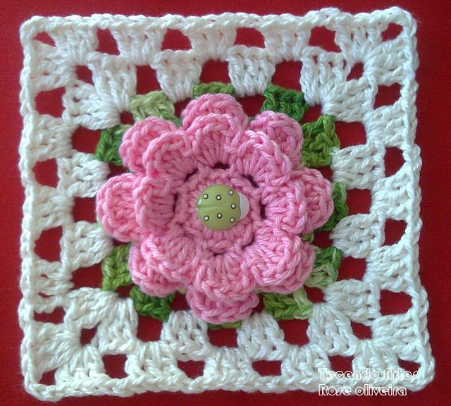 Tejiendo Arte en Crochet: Square and Coasters - Estado Haciendo Lo que él ...