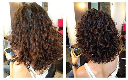 28 Haircuts for Short Curly Hair: #10. Shoulder Size Hair; #shorthair; #curlyhai…