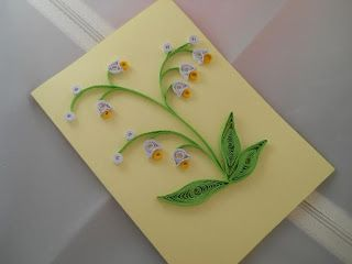 handmade gifts - quilling art