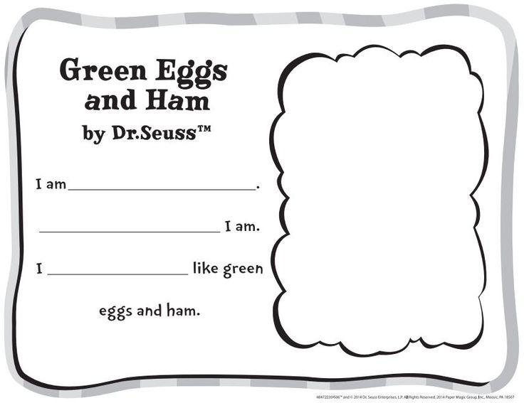 Free Dr. Seuss Green Eggs and Ham Classroom Activity | Eureka School