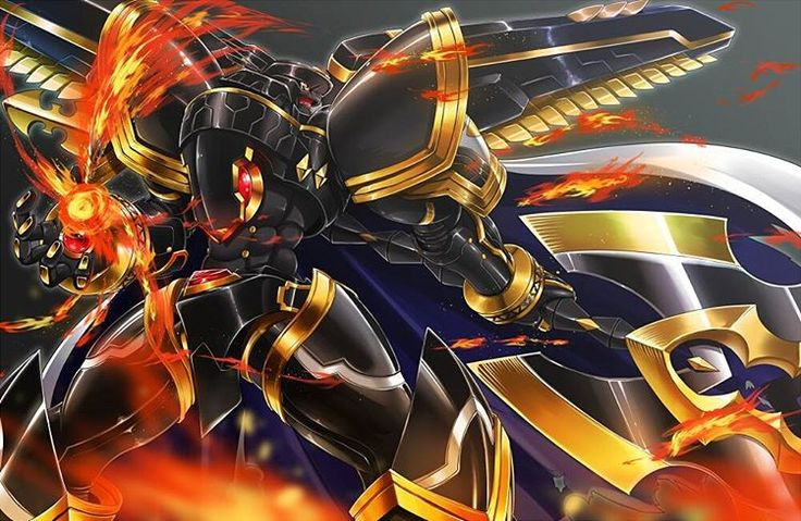 """#Alphamon#Ouryuken #アルファモン:王竜剣 X-antibody BY ハヱキング ..."