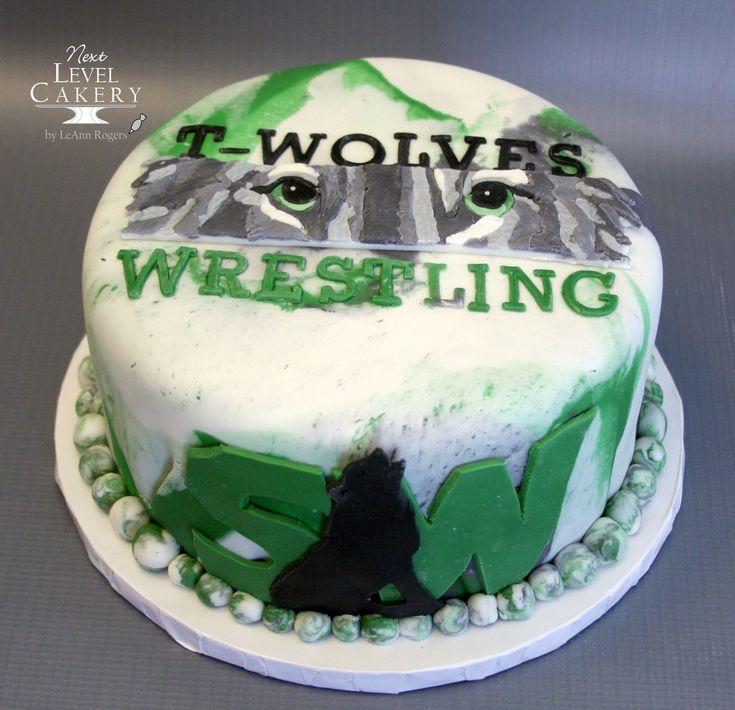 wrestling cake, blue valley southwest high school