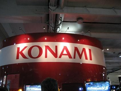 konami booth in 2005