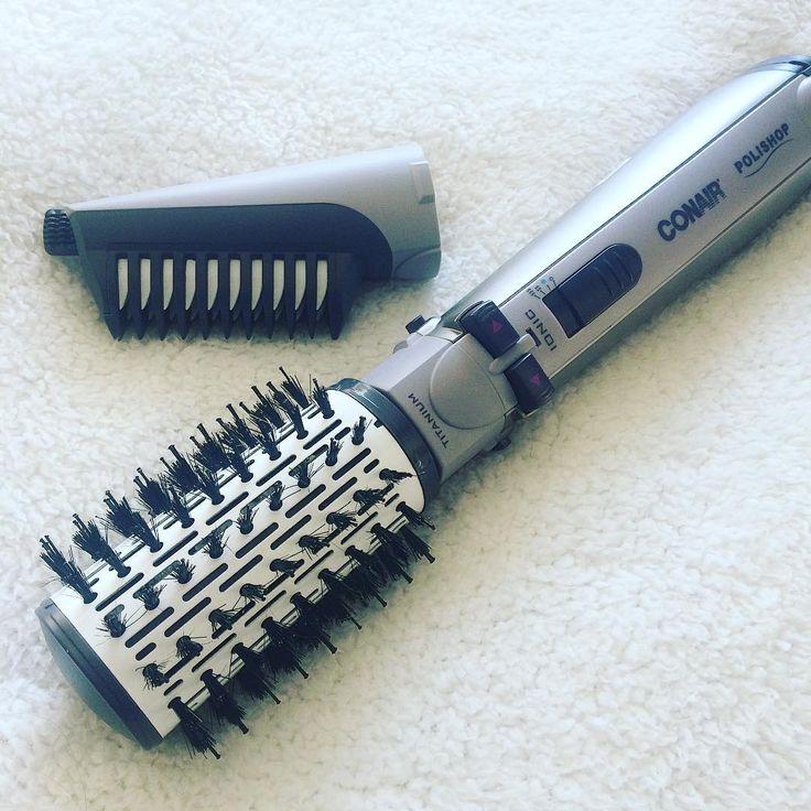 """36 curtidas, 8 comentários - @annemakeup no Instagram: """"aprendendo a usar a #conair, escova rotatória da @polishop. além dela girar para ambos os lados,…"""""""