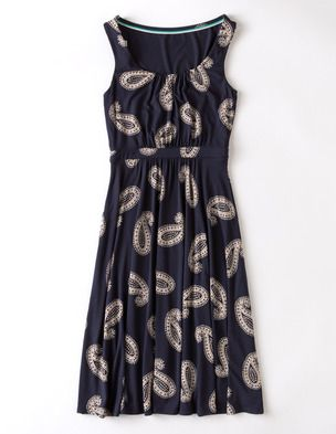 I've spotted this @BodenClothing Ella Dress Navy Paisley