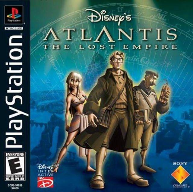 Disney S Atlantis The Lost Empire Atlantis The Lost Empire Atlantis Playstation