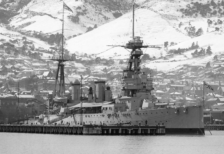 12 in Indefatigable class battlecruiser HMS New Zealand; 1913: a participant in the battles of Heligoland Bight (1914), Dogger Bank (1915) and Jutland (1916), she was only ever hit once, and suffered no casualties throughout the war - attributed by her crew to Maori warrior dress presented to and worn by her Captain whenever in action.