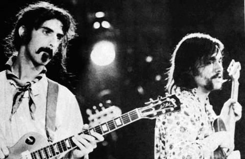 From late 1968 to early 1969 Lowell George was a member of Zappa's band, the Mothers of Invention. Thanks to Forrest George for providing us with this very rare picture.