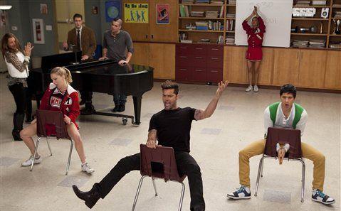 Ricky on Glee!! The Spanish Teacher