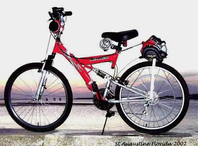 Golden Eagle Kit Gx35 Honda 4 Stroke Engine 36 Spoke Bicycle