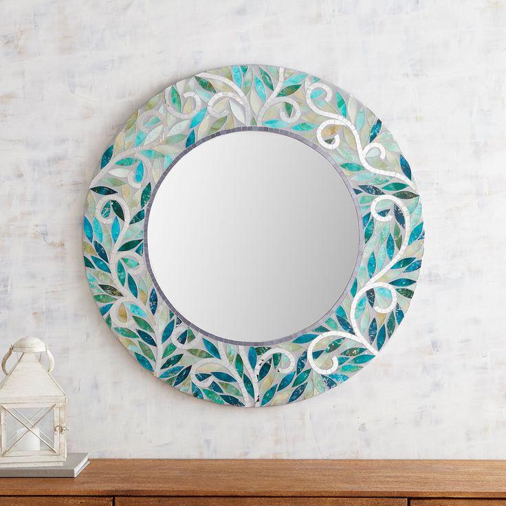 creative handmade mirrors - 736×736