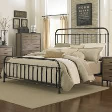 california king bed frame iron google search
